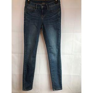 PrAna JEANS: blue denim skinny jeans